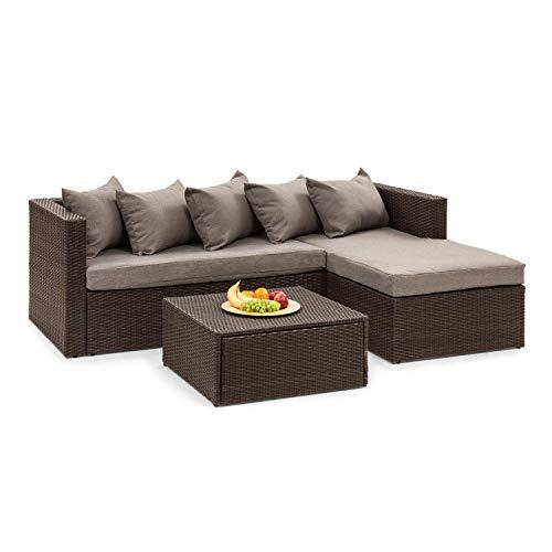 blumfeldt Theia Lounge Set Gartengarnitur