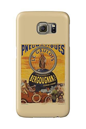 pneumatiques-bergougnan-le-gaulois-vintage-poster-france-c-1905-galaxy-s6-cell-phone-case-slim-barel