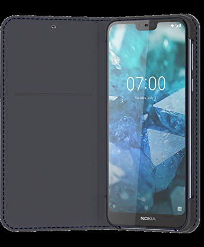 Nokia CP-270 T.blue Nokia 7.1 Enter -tainment Flip Cover Stand/Handytasche