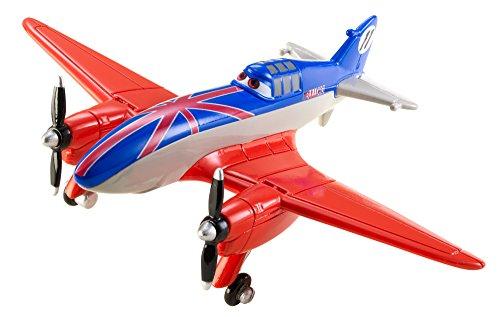 Disney - Planes X9467 Modellino di Aeroplano - Bulldog