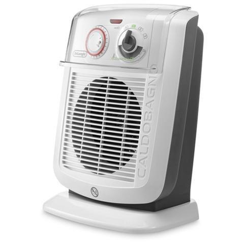 DE LONGHI HBC3052T Termoventilatore Caldobagno Potenza Massima 2200 Watt Colore Bianco