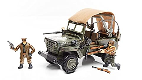 Mega Construx Bloks - Call of Duty WW2 Infantry Car Construction Set