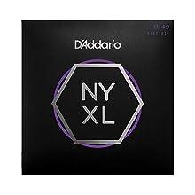 D'Addario NYXL1149 Jeu de 6 cordes pour Guitare électrique Nickel Wound Medium 11-49