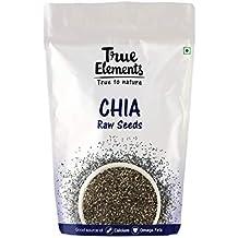 True Elements Raw Chia Seeds, 500g