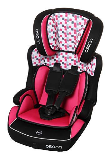 Osann Kindersitz Lupo Plus Gruppe 1/2/3 (9-36 kg) Kinderautositz, Mehrfarbig