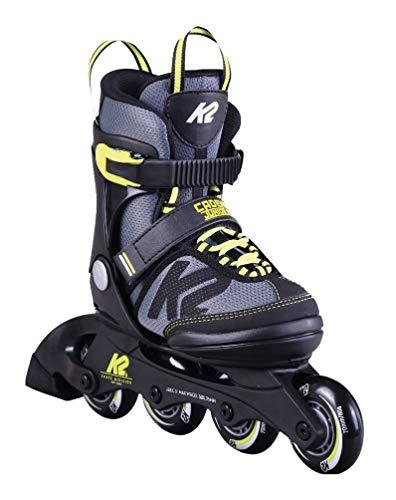 K2 Cadence JR Kinder Inline Skates größenverstellbare Inliner Rollerskates für Jungen (größenverstellbar von 35-40)