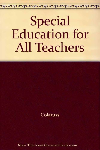 Special Education for All Teachers