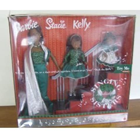 Ethnic Barbie Singing Holiday Sisters: W Barbiel, Stacie & Kelly Dolls (2000) - Listen to Us