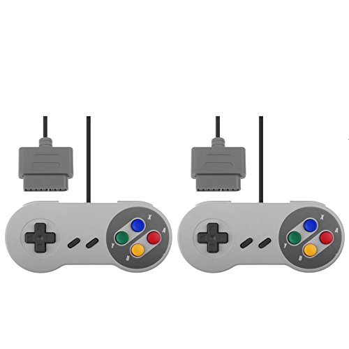 Link-e ® - Lotto di due joystick per Super Nintendo SNES