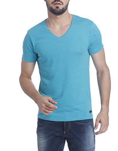 Jack & Jones Men's Casual Solid Slim Fit T-Shirt  available at amazon for Rs.318