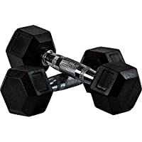 Skyland Neo Hex Dumbell Set, 10Kg x 2 - Black, Em-9260-10