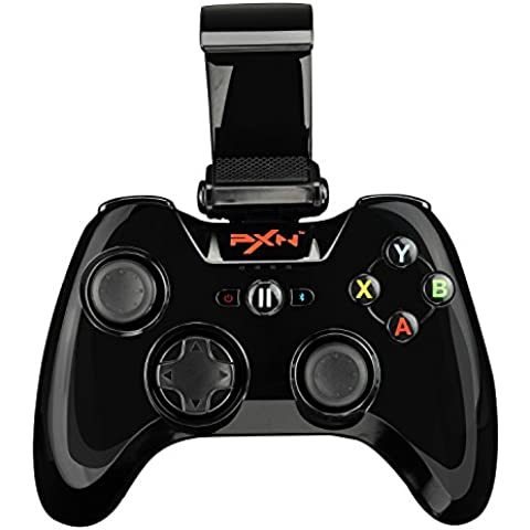 Morjava® pxn-6603 – Speedy inalámbrico Bluetooth Gamepad juego controlador juegos Joystick para iOS iPhone/iPad/iPod Touch/Apple TV con iTunes App Store controlador juegos Apple MFI certificado