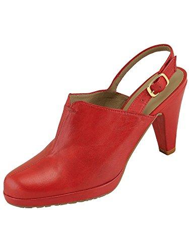 Marion Spath , chaussures compensées femme Rouge - Rouge