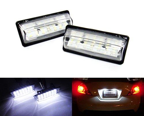 2x-luffy-led-licencia-nmero-placa-luz-blanco-para-nissan-altima-murano-rogue-sentra-sylphy-teana-tii