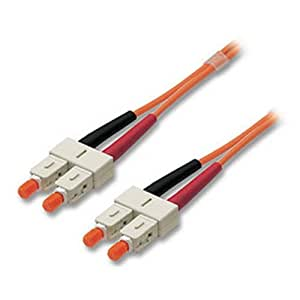 Lindy 46085 Câble Fibre optique Duplex SC/SC 15 m