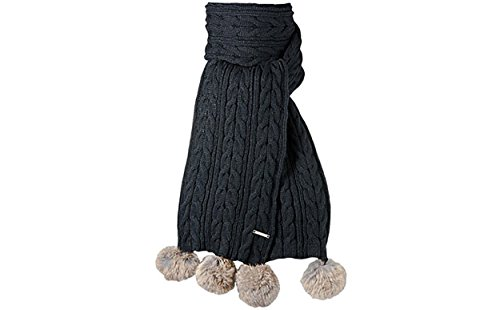 Barts écharpe emily Noir (Schwarz)