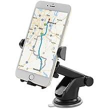 Cofit coche teléfono soporte con ventosa compatible con iPhone de bloqueo lavable 7S 6s Plus 6s 5s 5C Samsung Galaxy S8LG Nexus Sony Edge S7S6Nota 5