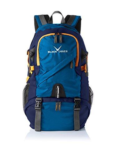 Black Crevice–Zaino Hiking, Unisex, Rucksack Hiking, blu,