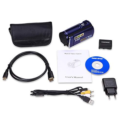 HD 1080P 16MP Digital-Videokamera HDMI-Ausgang 3.0 '' TFT-LCD-Bildschirm 16X Zoom 9 Portable Tripod Screen