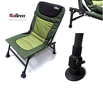 Carp Fishing Chair - Diem Lightweight Fold Flat Session Chair - 674207 by Diem