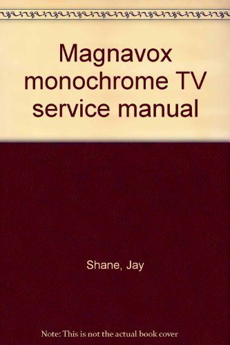 magnavox-monochrome-tv-service-manual