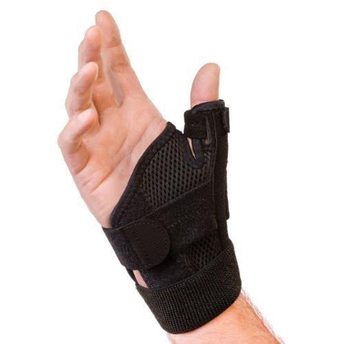 Müller Medizin (Sport Medizin Daumenausschnitt Stabilisator Mueller wendbar, schwarz, zur Bestimmung der am Handgelenk - passend für 5.5 - 26,67 cm von Mueller)