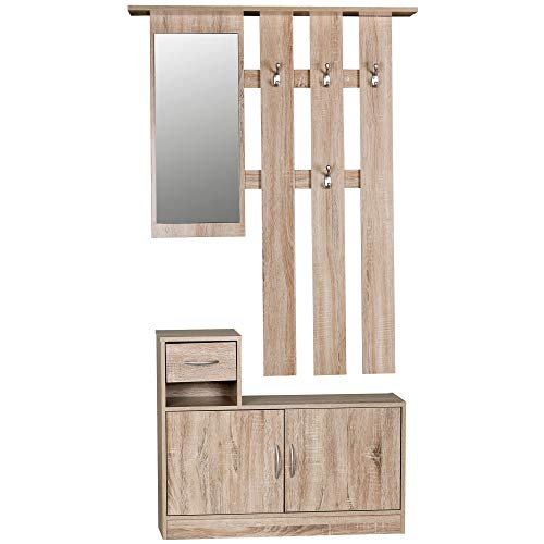 Garderoben Garderobe Holz