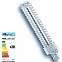 OSRAM Lampe fluo compacte DULUX S 220-240V Culot G23, 11 W 827 Interna