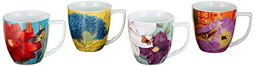 Waechtersbach Accents Impressions Mugs, Multicolor, Set of 4 by Waechtersbach