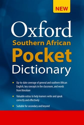 Oxford Southern African Pocket Dictionary (Orbis edition) (Oxford Dictionary Pocket)