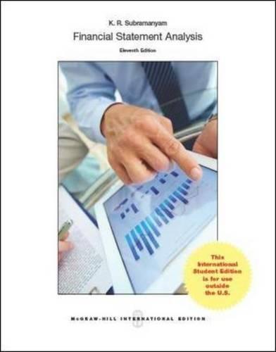 Financial statement analysis (Economia e discipline aziendali)