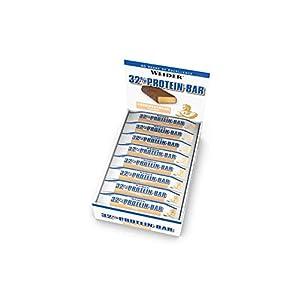 Weider 32% Protein Bar, Gusto Cocco - Barretta da 60G Confezione da 24