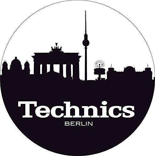 Technics 60612Slipmat panno per giradischi, motivo: Berlino
