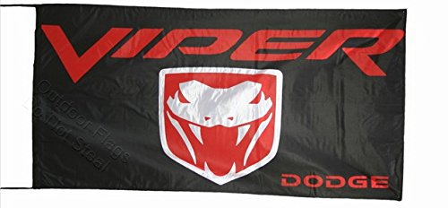 dodge-viper-flag-bandiera-25x5-ft-150-x-75-cm