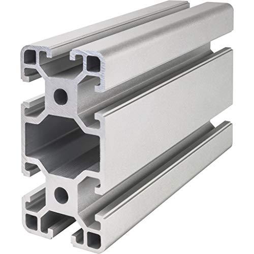 Systemprofil Aluminium Profil 4080 Nut 8 Montageprofil Stangenprofil Strebenprofil Nutprofil Bauprofil 40x80 (400 mm)