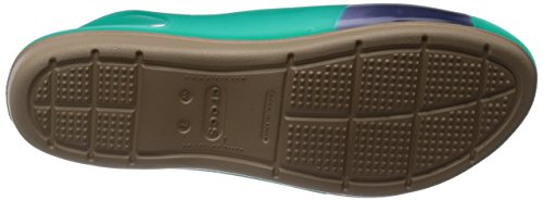 Crocs ColorBlock W - Sandali Donna Teal