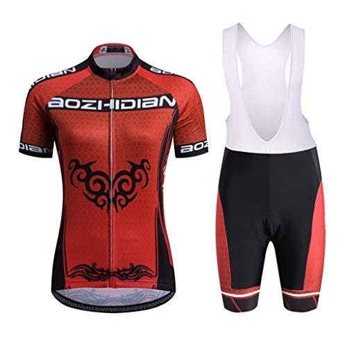 Ldd-qxf Mountainbike-Jersey-Anzug Kurzarm-Jersey-Anzug Roller Skating-Anzug (Farbe : 1, größe : XL)