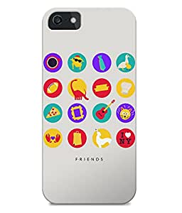 Astrode Friends Tv Things Back Case for Apple iPhone 5/5S