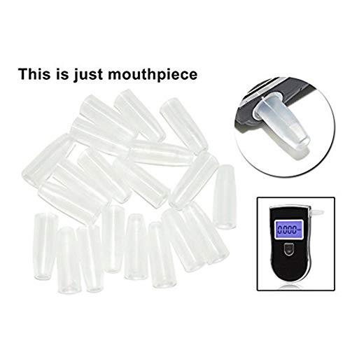 WSN Boquilla de analizador de exhalación 100 probador de Alcohol de Aliento Digital, no Contiene máquina,C...