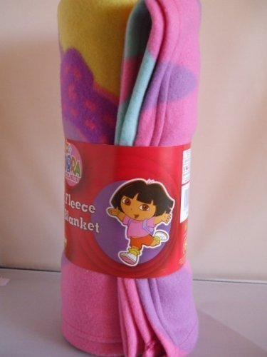 dora-the-explorer-adorable-flowers-fleece-blanket-throw-blanket-official-licenced-product-dora-the-e