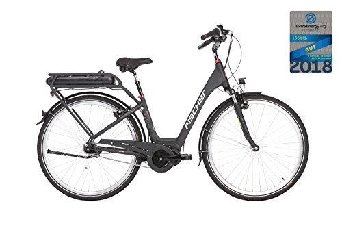 "Fischer ECU 1820 E-Bike, Anthrazit Dunkel, 28"""