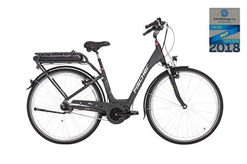 e bike mit mittelmotor und ruecktrittbremse Fischer ECU 1820 28