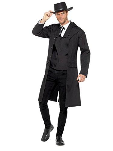 nty Hunter Kostüm, Herren, Schwarz, l-uk Größe 106,7cm–112cm (Bounty Hunter Kostüm)
