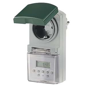 REV Ritter 0025750409 Z-Uhr Digital IP44, grau / grün