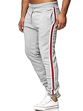 b13e3614b9044c EGOMAXX Herren Jogging Hose Sweat Pants Track Pants Sporthose H2630   Amazon.de  Bekleidung
