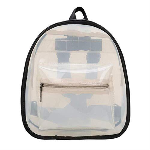 Frauen Transparente Geldbörse Rucksack Sommer Klar PVC Strandtasche Hochwertige Schultaschen Für Mädchen Im Teenageralter Weiß