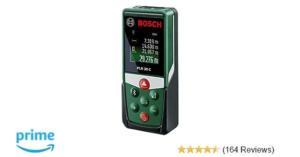 Bosch Laser Entfernungsmesser Zamo Ii Test : Bosch laser entfernungsmesser plr 30 c app funktion 3x aaa