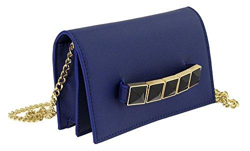 Camomilla Milano , Sac pour femme à porter à l'épaule bleu bleu