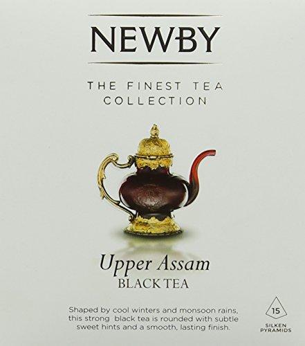 Newby Teas Silken Pyramids Upper Assam Black Tea 38 g (Pack of 1, Total 15)