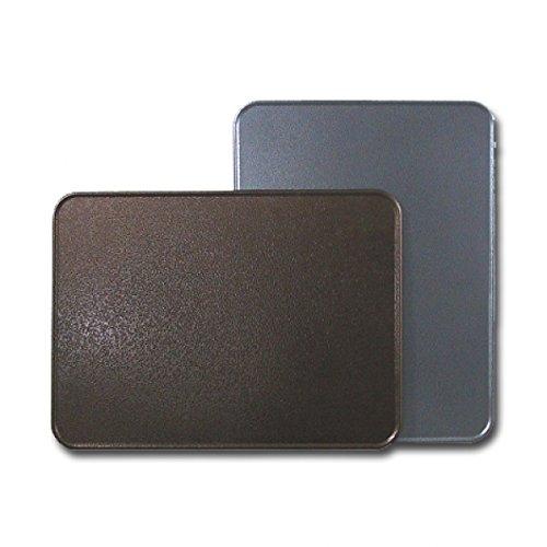 Ofenblech Ofenschutzblech 80 x 60 cm Antikes Silber